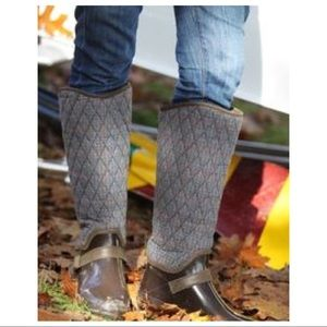SPERRY HINGHAM TALL QUILTED FLEECE LINED BOOTS